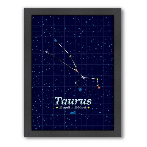 Americanflat Patricia Pino ''Taurus'' Framed Wall Art