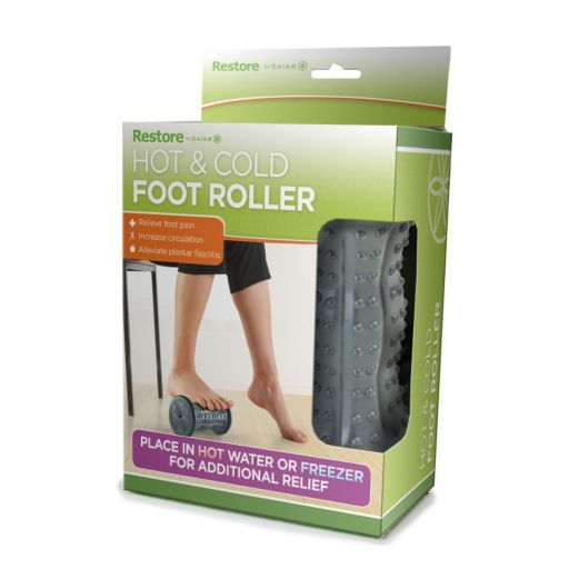 Gaiam Restore Hot and Cold Foot Roller