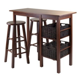 Winsome Egan 5-piece Dining Table Set