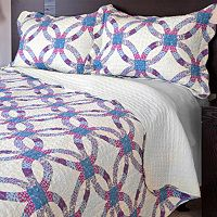 Portsmouth Wedding Ring Quilt Set