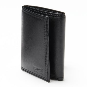 Men's Levi's® Black Trifold Wallet