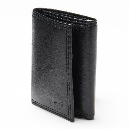 Men's Levi's® Black Trifold Wallet