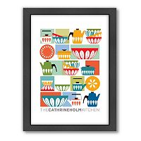 Americanflat Visual Philosophy ''Cathrineholm Kitchen'' Framed Wall Art