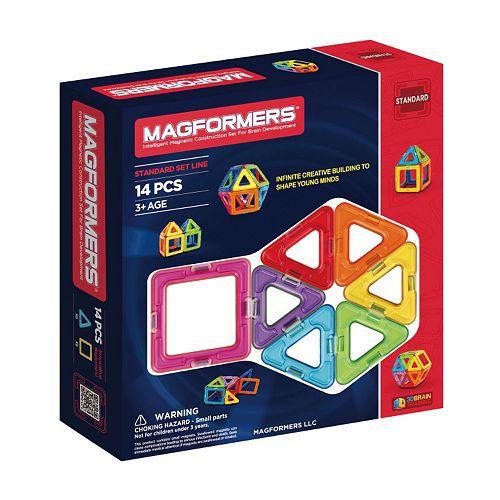 Magformers 14-pc. Rainbow Set