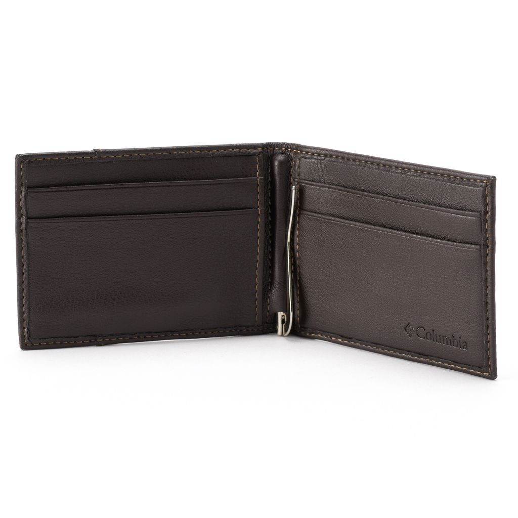 Columbia RFID-Blocking Leather Front-Pocket Wallet - Men