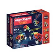 Magformers 16 pc Wow Vehicle Set