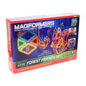 Magformers 47-pc. Forest Friends Set