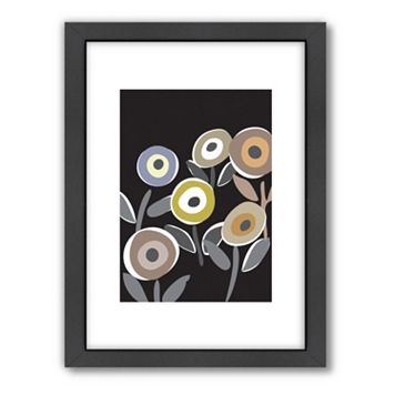 Americanflat Visual Philosophy ''Floripop'' Framed Wall Art