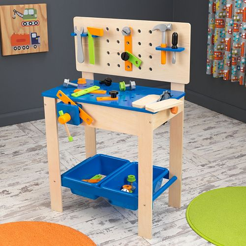 KidKraft Deluxe Workbench with Tools Play Set