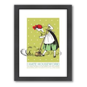 Americanflat Visual Philosophy ''Sweeper'' Framed Wall Art