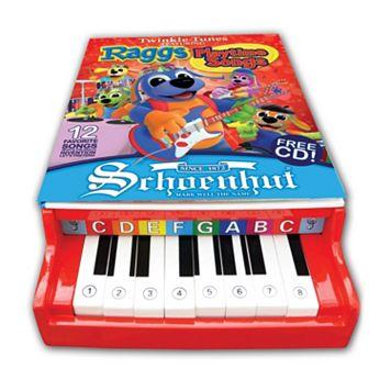 Schoenhut Raggs Twinkle Tunes Piano Book