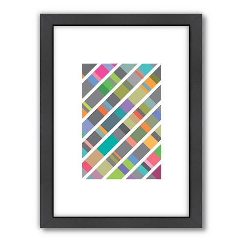 Americanflat Visual Philosophy ''DNA 2'' Framed Wall Art