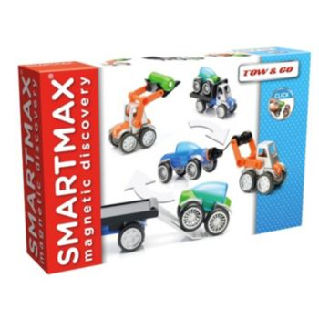 SmartMax Magnetic Discovery Power Vehicles Tow and Go Set