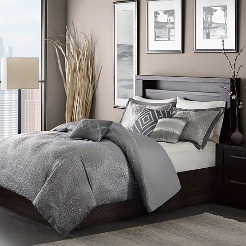 Madison Park Crawford 7 Piece Comforter Set