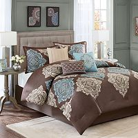 Madison Park Barnett 7 pc Comforter Set