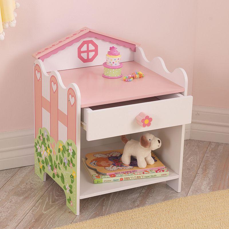 KidKraft Dollhouse Toddler Side Table, Pink