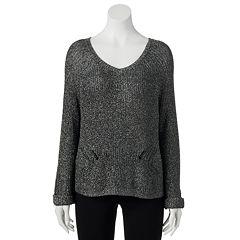 Women's Jennifer Lopez Lurex Sweater