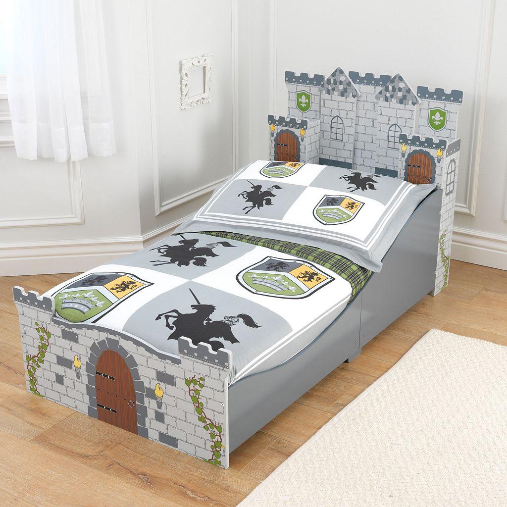 KidKraft Medieval Castle Toddler Bed