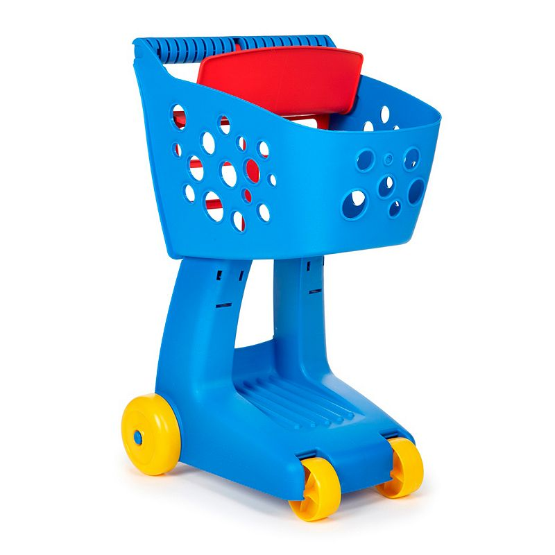 Little Tikes Lil' Shopper Shopping Cart, Clrs Your little one can go on a pretend trip to the grocery store with this shopping cart toy by Little Tikes that can hold all their favorite things. Sturdy walls keep small items in Innovative nesting feature & design Small seat for stuffed animal or small doll Deep basket & storage underneath provide plenty of space for all of a childÕs favorite things 21.5 x 12 x 14.5 Cart weight: 2.85 lbs. Ages 2 years & up ManufacturerÕs 1-year limited warrantyFor warranty information please click here MODEL NUMBER Blue: 635533M Pink: 637131M  Size: One Size. Color: Clrs. Gender: unisex. Age Group: kids.