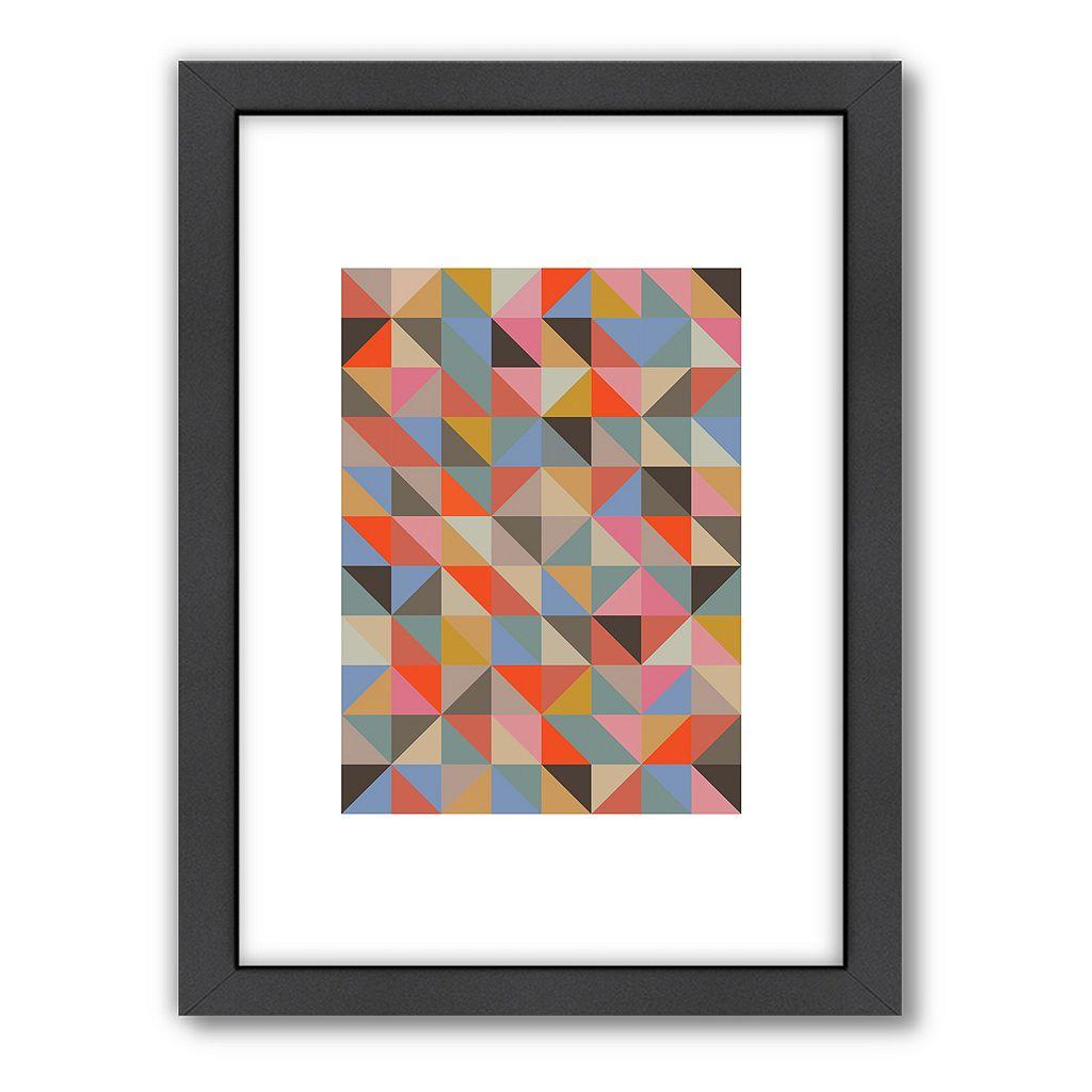 Americanflat Visual Philosophy 1 Geometric Framed Wall Art