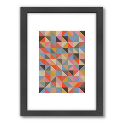 Americanflat Visual Philosophy 1 Geometric Framed Wall Art