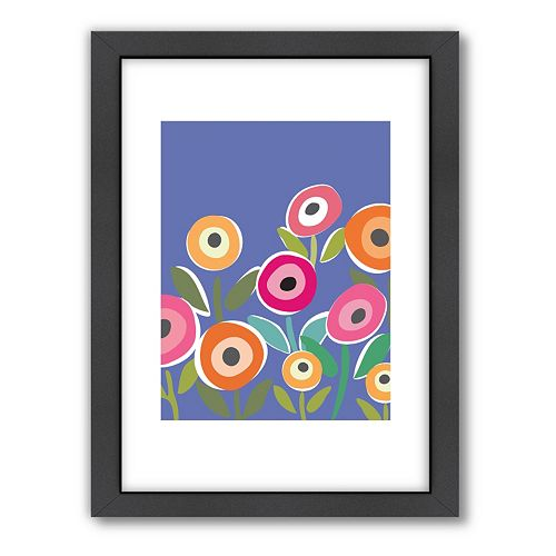 Americanflat Visual Philosophy Floripop Framed Wall Art