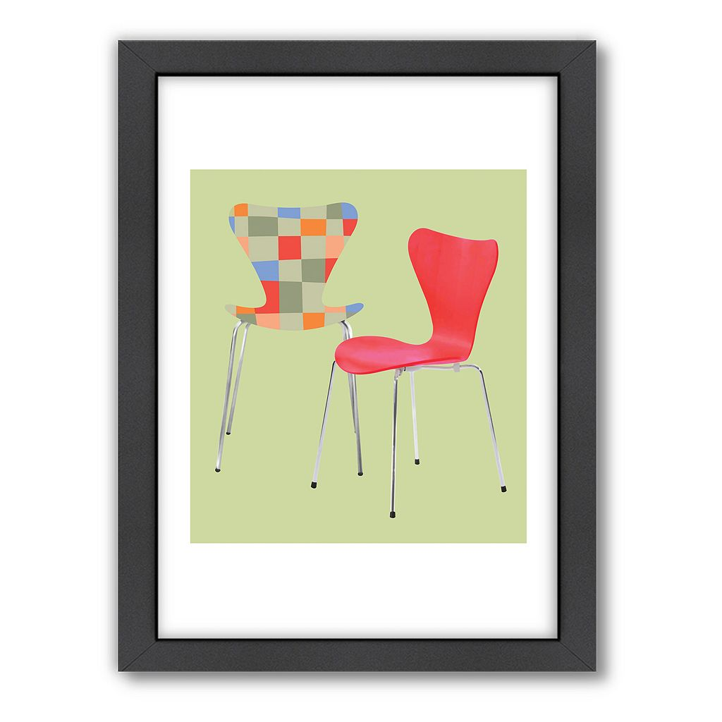 Americanflat Visual Philosophy Arne Series 7 Framed Wall Art