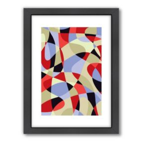 "Americanflat Visual Philosophy ""Scribble"" Framed Wall Art"