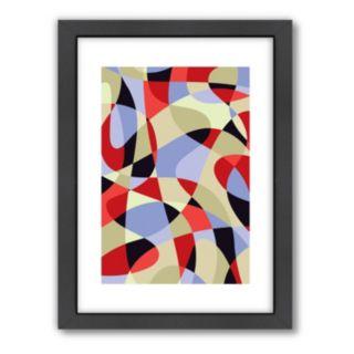 "Americanflat Visual Philosophy ""Scribble"" Framed Wall Art"
