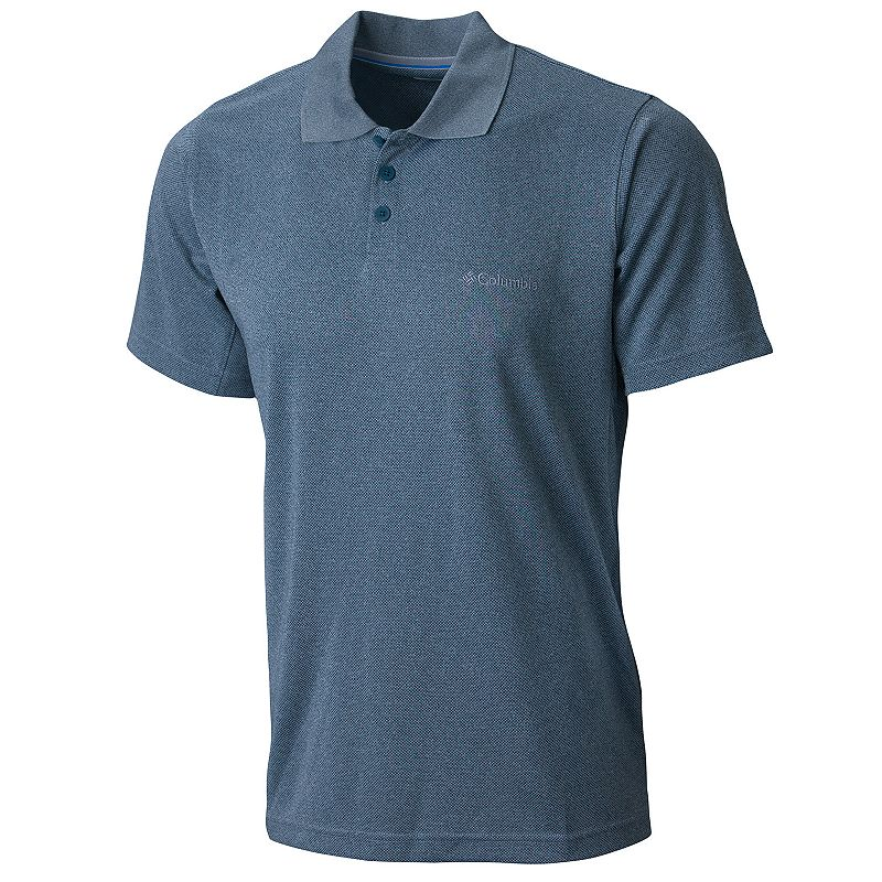 Men's Columbia New Utilizer Classic-Fit Jacquard Performance Polo