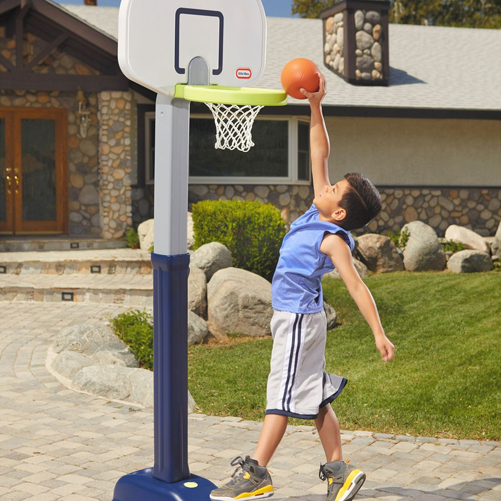 Little Tikes Adjust 'n Jam Pro Basketball Hoop