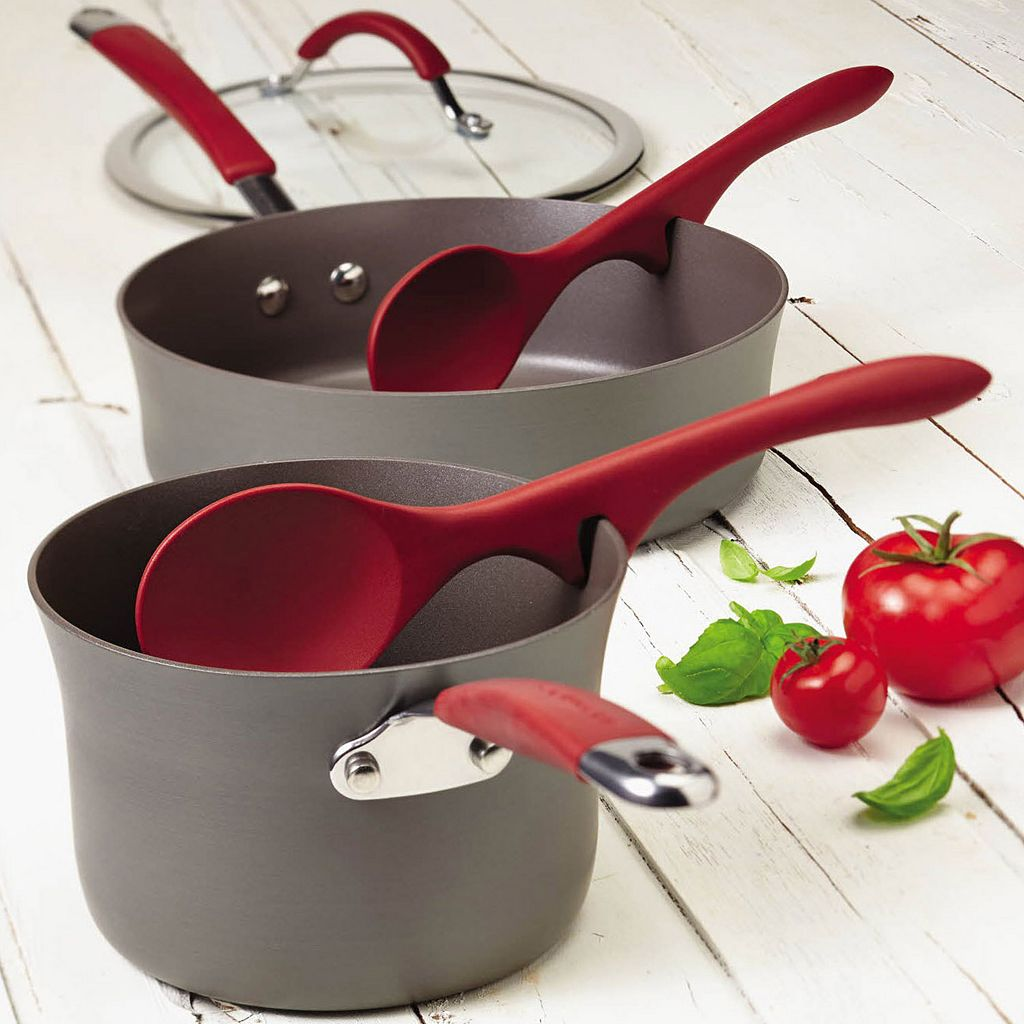 Rachael Ray Cucina 2-pc. Lazy Solid Spoon Set