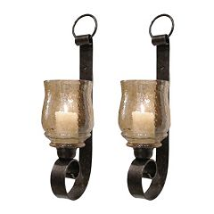 Joselyn 2 pc Candle Wall Sconce Set