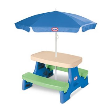 Little Tikes Easy Store Jr. Play Table with Umbrella