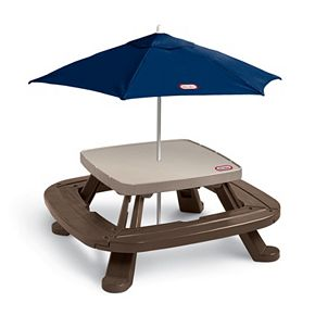 Little tikes fold n store picnic table with market umbrella null little tikes fold n store picnic table with market umbrella watchthetrailerfo