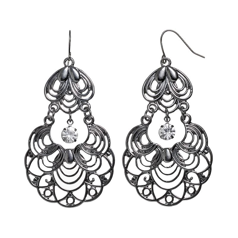 Candie's Filigree Drop Earrings