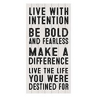 ''Be Bold'' Canvas Wall Art