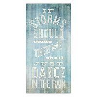 ''Dance in the Rain'' Canvas Wall Art