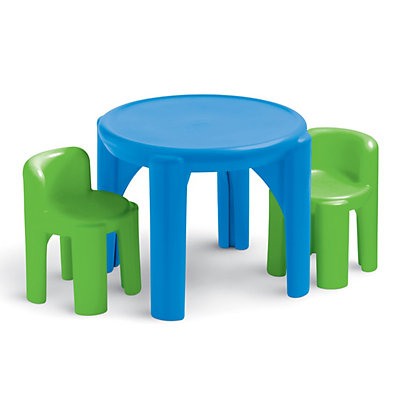 Little Tikes Bright 'n Bold Table and Chairs Set