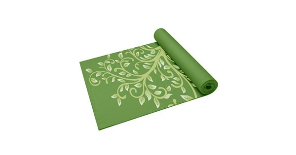 Gaiam Tree Of Wisdom 3-mm Thick Yoga Mat