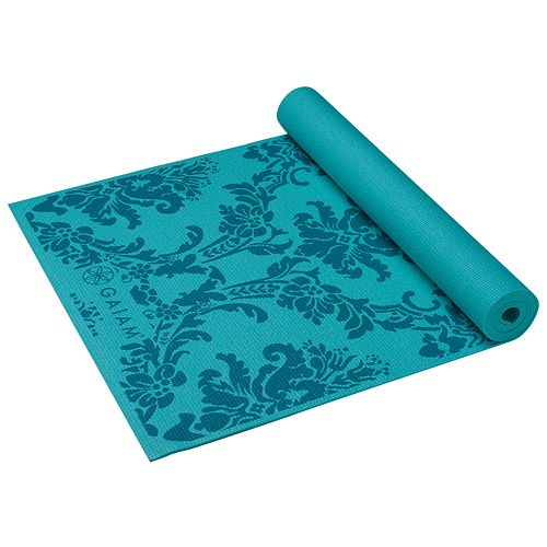 Gaiam Neo-Baroque 3-mm Thick Yoga Mat