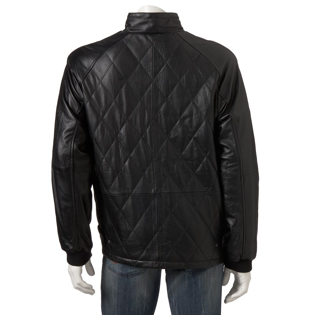 Big & Tall Excelled Leather Moto Jacket