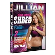 Jillian Michaels One Week Shred DVD