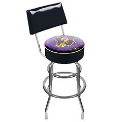 East Carolina Pirates Padded Swivel Bar Stool with Back
