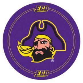 East Carolina Pirates Padded Swivel Bar Stool with Back