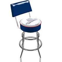 Gonzaga Bulldogs Padded Swivel Bar Stool with Back