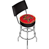 Maryland Terrapins Padded Swivel Bar Stool with Back