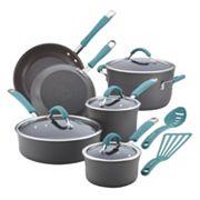 Rachael Ray Cucina 12 pc Hard-Anodized Nonstick Cookware Set