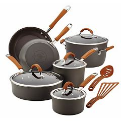 Rachael Ray Cucina 12 pc Hard-Anodized Nonstick Cookware Set