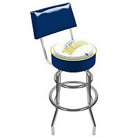 Toledo Rockets Padded Swivel Bar Stool with Back